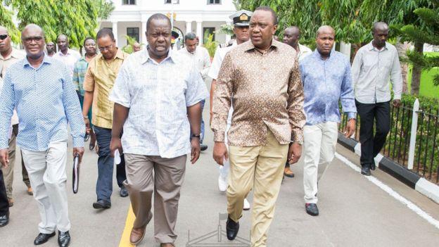 Muuqaal:-Madaxweyne Uhuru oo awoodii Rutto ku wareejiyay Wasiir